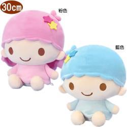 雙子星絨毛娃娃玩偶坐姿款30公分 579666/579667【卡通小物】