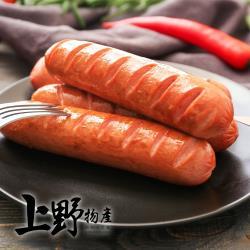 【上野物產】美式甲霸大熱狗 (1800g/20條/包) x1包