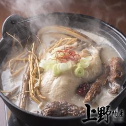 【上野物產】鮮味養身香菇黃金雞湯(500g土5%/包) x1包