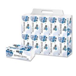 綠荷柔韌抽取式花紋家用紙100抽X100包/箱