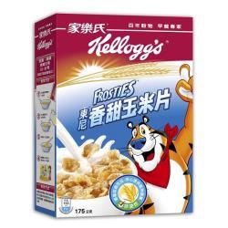 【家樂氏】玉米片3盒;3種口味任選(香甜/蜂蜜/可可球)