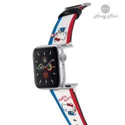 【Hong Man X Sanrio】 Apple Watch 皮革錶帶 HELLO KITTY 哈囉凱蒂 38/40mm