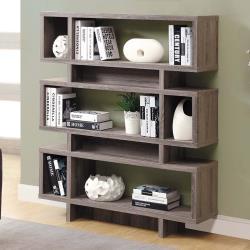 HD 康迪仕摩登褐灰色書櫃
