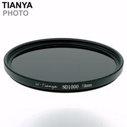 Tianya天涯18層多層鍍膜ND110即ND1000減光鏡67mm濾鏡67mm減光鏡(減10格光量;薄框)
