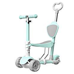 LOG 樂格曼龍 坐立三用式 兒童玩具滑板車-任選 (粉色/綠色) ~經濟部標檢局檢驗合格