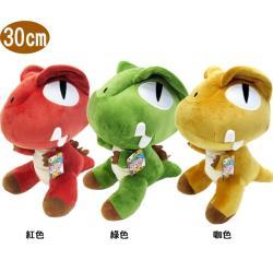 恐龍絨毛娃娃玩偶暴龍Q版款30公分 45-00199 【卡通小物】