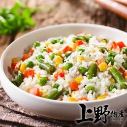 【上野物產】冷凍蔬菜 三色豆(1000g土10%/包) x4包