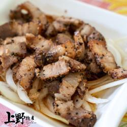 【上野物產】客家秘製鹹豬肉  (350g土10%/片) x1片
