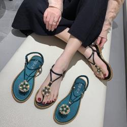 【Alice 】 (預購)  獨家價美型Y字美腿平底涼鞋