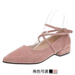 【Alice 】 (預購)  超有型舒適素色簡約尖頭鞋