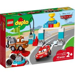 LEGO樂高積木 10924 Duplo 得寶系列 Lightning McQueens Race Day