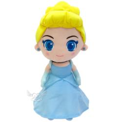 迪士尼公主大眼睛灰姑娘仙杜瑞拉絨毛娃娃玩偶40公分 172804【卡通小物】
