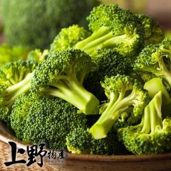 【上野物產】急凍新鮮 綠花椰菜 (1000g土10%/包) x 5包