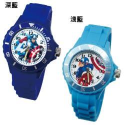 漫威英雄美國隊長兒童錶手錶運動錶卡通錶 2選1 67783710【卡通小物】