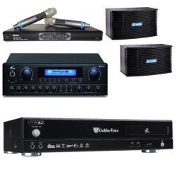 金嗓 CPX-900 R2電腦伴唱機 4TB+PMA-328擴大機+MR-865 PRO無線麥克風+K-08卡拉OK喇叭