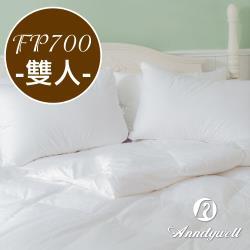 【雅帝格】買被送枕 奈米蓬鬆90/10頂級冬季羽絨被FP700 -雙人