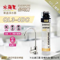 EVERPURE 水蘋果 QL3-4DC 單道淨水器
