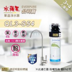EVERPURE水蘋果 QL3-S54 單道淨水器