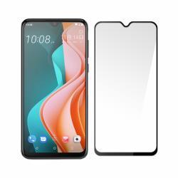 SSTAR HTC Desire 19s 全膠滿版鋼化玻璃保護貼 黑色