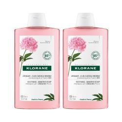 蔻蘿蘭 Klorane 芍藥舒敏洗髮精 400ml(雙入組)