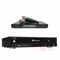 金嗓 Golden Voice CPX-900 R2 卡拉OK點歌機 4TB+LAND LM-750 無線麥克風