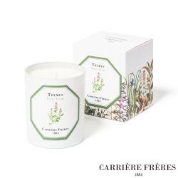 法國 Carrière Frères 百里香 Thyme 185g 天然手工香氛蠟燭
