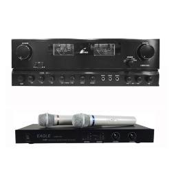 商業空間音響 FPRO PMA-270 擴大機+EAGLE EWM-P28 無線麥克風