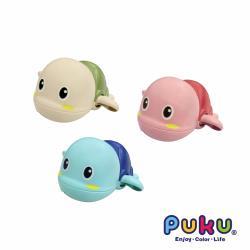PUKU藍色企鵝 樂游小烏龜發條玩具(3入組)