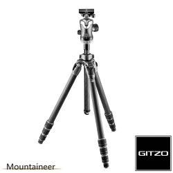 Gitzo Mountaineer GK2542-82QD 碳纖維三腳架雲台套組2號4節-登山家系列