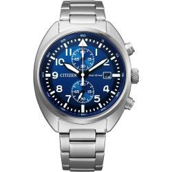 CITIZEN 星辰 光動能計時手錶-41mm CA7040-85L