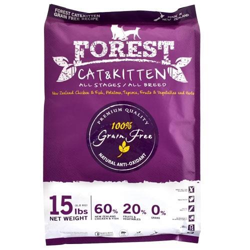森鮮天然無穀低敏-全貓配方15磅/6.82kg(以4磅