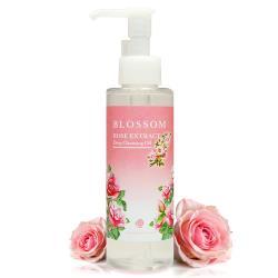 BLOSSOM 玫瑰植萃淨白保濕煥采深層潔顏油(150ML/瓶)*1件組