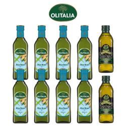奧利塔玄米油500毫升*8罐+義大利GIURLANI老樹特級初榨橄欖油500毫升*2罐