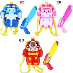 救援小英雄波力背包水槍玩具 29170812【卡通小物】