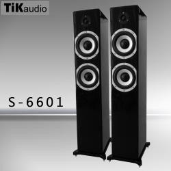 TiKaudio S-6601 落地型主聲道喇叭 黑