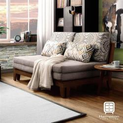 【Hampton 漢汀堡】哈瑞斯沙發床(沙發/休閒沙發/椅子/沙發床)