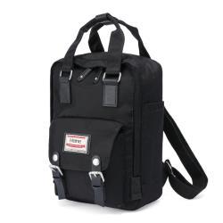 【Heine海恩】WIN-198P 超人氣小後背包 小背包 女包 防潑水背包 小書包 尼龍包 流行包包 小型包 -黑色