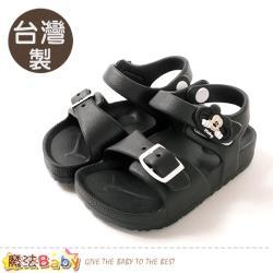 魔法Baby 男童鞋 台灣製迪士尼米奇授權正版極輕量涼鞋~sd3074