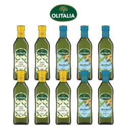奧利塔純橄欖油500毫升*5罐、奧利塔玄米油500毫升*5罐