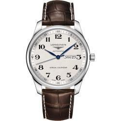 LONGINES 浪琴 Master 巨擘系列機械錶-42mm L29204783