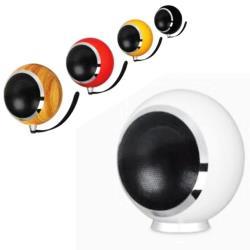 KARMEN A-8 Hi-Fi 造型喇叭 可桌放、可壁掛 單支裝(黃色)