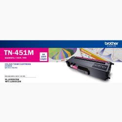 Brother TN-451M 原廠紅色標準容量碳粉匣