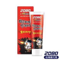 【韓國2080】經典辣雞麵限量聯名款牙膏100g