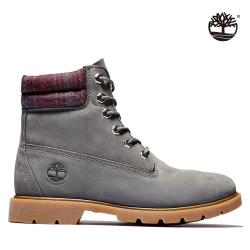 Timberland 女款深灰色磨砂革6吋靴A2DVSC64