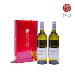 【古今人文】伊威 養生白葡萄飲x2盒(750ml*2瓶/盒)_無酒精禮盒組