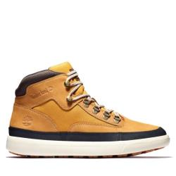 Timberland 男款小麥色磨砂革高筒靴A2BPA231