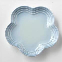 Le Creuset 花型淺盤 海岸藍