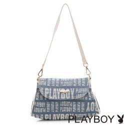 【PLAYBOY】肩背包  玩字系列