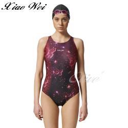 聖手品牌 時尚競賽型中叉三角連身泳裝 NO.A975058