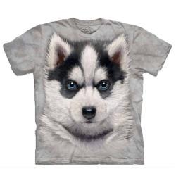 摩達客 自然純棉系列  小哈士奇犬 T恤